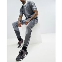 adidas Originals PLGN Knitted Joggers In Skinny Fit In Black CW5112 - Black