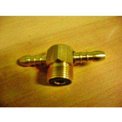Dwójnik W21,8L + 2 x 9mm do gazu Propan-Butan