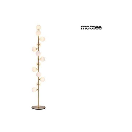 Moosee lampa podłogowa cosmo floor gold - złota marki Sofa.pl