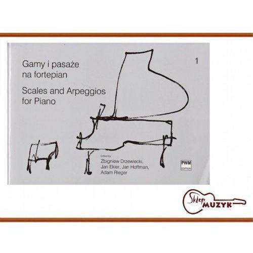 Gamy i pasaże na fortepian. Zeszyt 1 (opr. miękka)
