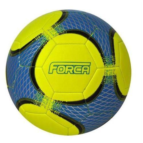 Piłka nożna TRENINGOWA AXER FORCA YELLOW/BLUE - Niebieski ||Żółty
