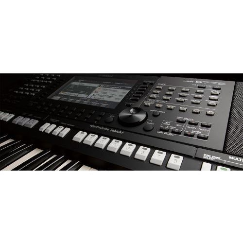 psr s775 keyboard instrument klawiszowy marki Yamaha