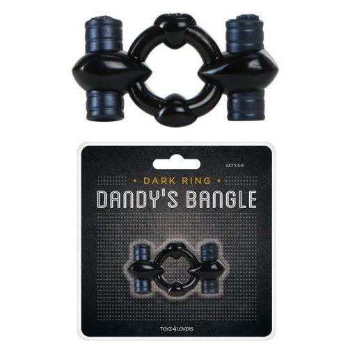 Pierścień z dwoma silnikami - mega siła z kategorii Nakładki i pierścienie erotyczne