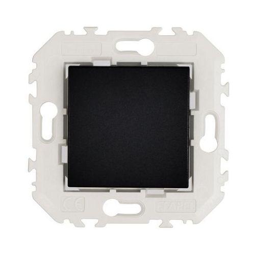 Efapel Przycisk pojedynczy quadro czarny (5603011623142)