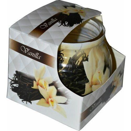 Świeca zapachowa w szklance powlekanej Miral Vanilla