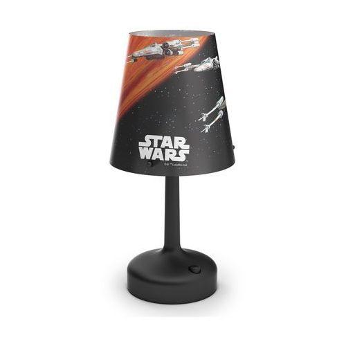 Philips  71888/30/16 - dziecięca lampa stołowa star wars spaceships 1xled/0,57w/3xaa (8718696130834)