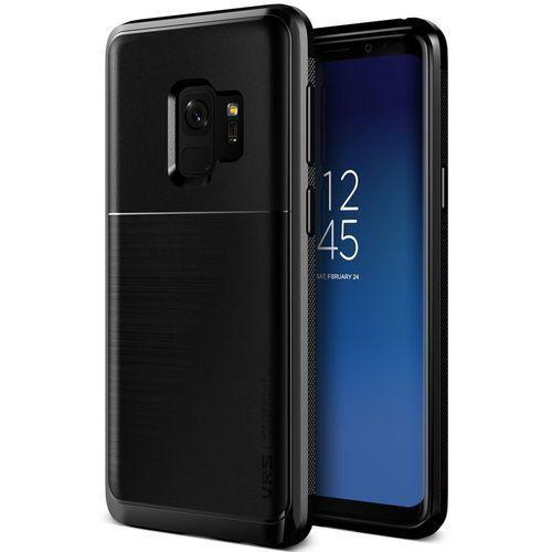 Etui VRS Design High Pro Shield Samsung Galaxy S9 Metal Black, kolor czarny