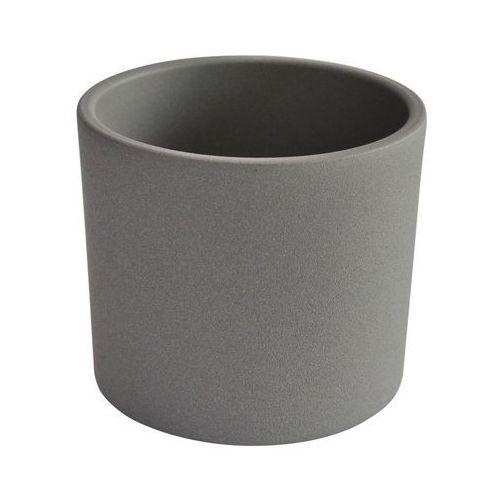 Osłonka ceramiczna 17 cm szara walec marki Ceramik