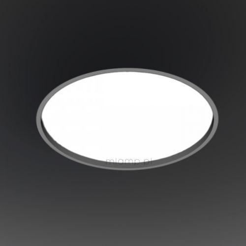 Wpuszczana LAMPA sufitowa OPRAWA podtynkowa HOFU 3319-B/E27/SZ Shilo okrągła szary