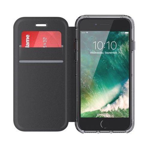 survivor clear wallet etui portfel iphone 8 / 7 (czarny/przezroczysty) marki Griffin