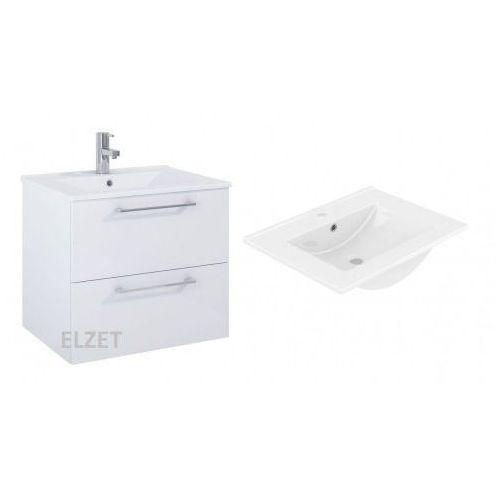 ELITA Roma Plus white szafka + umywalka 60 5110008