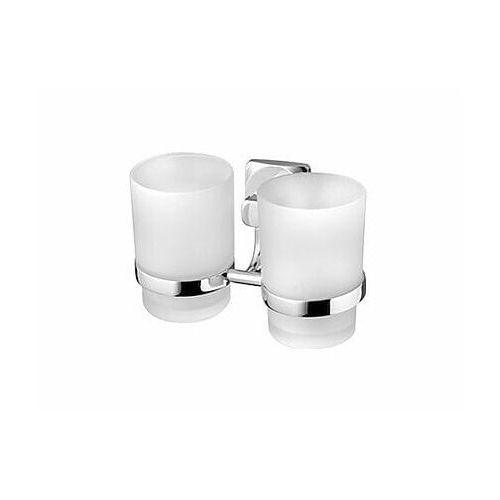 ice podwójny kubek kosmetyczny, chrom 04851 marki Bisk