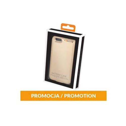 Battery case iphone 6/6s 3000 mah + microsd złota marki Forever