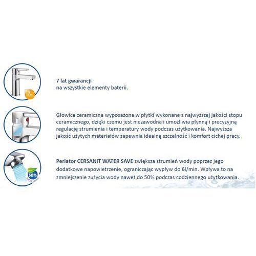 Bateria Cersanit Cersanit cromo s951-036 (chrom) S951-036