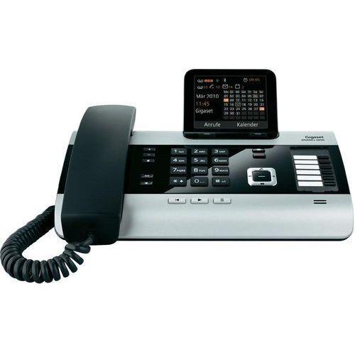 Telefon isdn  dx600a, przewodowy, sekretarka, 500 wpisów, funkcja sms, bluetooth wyprodukowany przez Gigaset