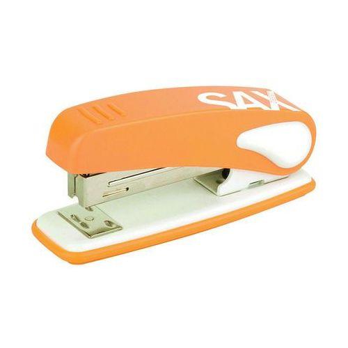 Heinrich sachs Zszywacz sax239 design, zszywa do 25 kartek, display, pomarańczowy