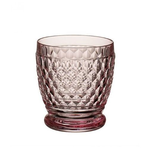 - boston coloured szklanka różowa marki Villeroy & boch