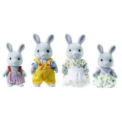 rodzina szarych króliczków 3134 marki Sylvanian families
