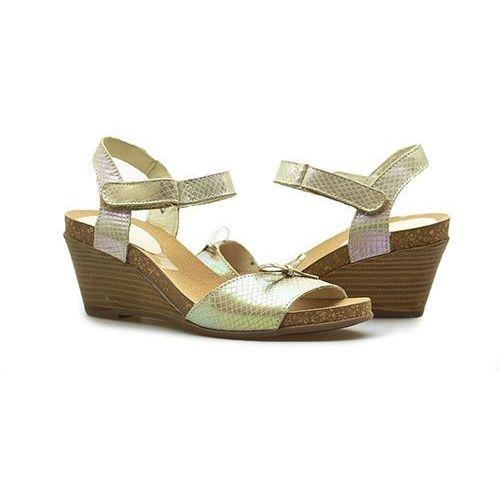 Sandały Lesta 181-1202-1-8330 Beżowe neon