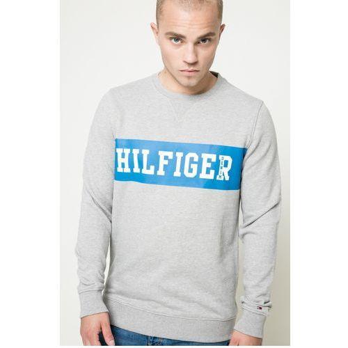 - bluza basic branded marki Hilfiger denim