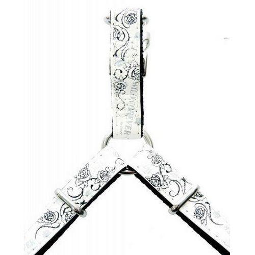 Zolux envy forever szelki regul. 10 mm - białe ## charytatywny sklep ## 100% zysku sklepu na pomoc psiakom:)