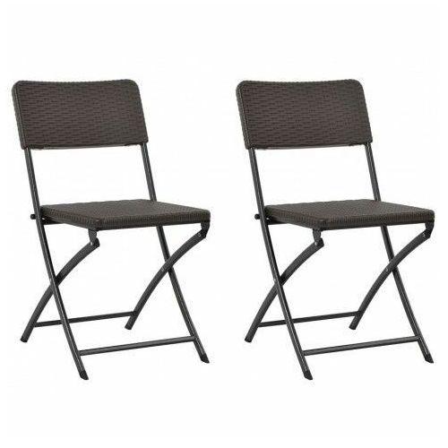 Składane krzesła ogrodowe Otavio - 2 szt, vidaxl_44551