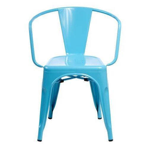 6171 krzesła paris arms niebieskie marki D2