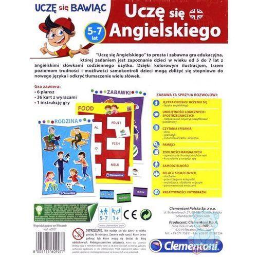 Uczę się Angielskiego Clementoni (8005125609277)