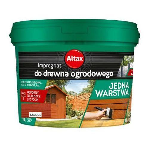 - impregnat do drewna ogrodowego, mahoń, 10 l marki Altax