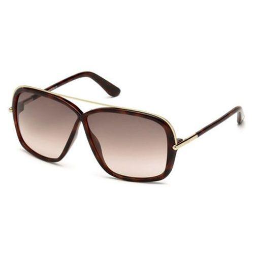 Okulary słoneczne ft0455 brenda 52f marki Tom ford