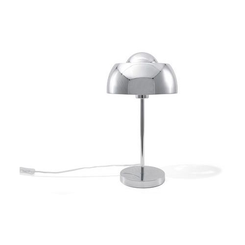 Beliani Lampa stołowa srebrna senette (4260586357745)