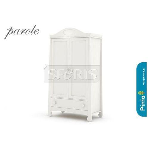 PINIO Parole Szafa dwudrzwiowa MDF biała - 016-040-110