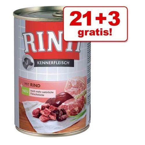 21 + 3 gratis! megapakiet  pur, 24 x 400 g - konina marki Rinti