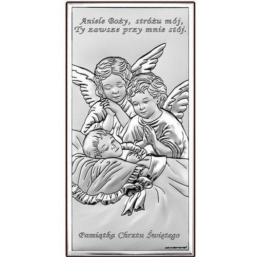 Obrazek aniołowie stróże pamiątka chrztu- (bc#6468s) od producenta Beltrami