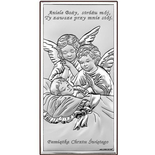 Obrazek Aniołowie Stróże Pamiątka chrztu- (BC#6468S)