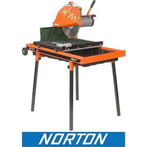 Norton clipper holandia Piła pilarka przecinarka stołowa stolikowa do kostki budowlana norton clipper cm351 uno ewimax (5450248509394)