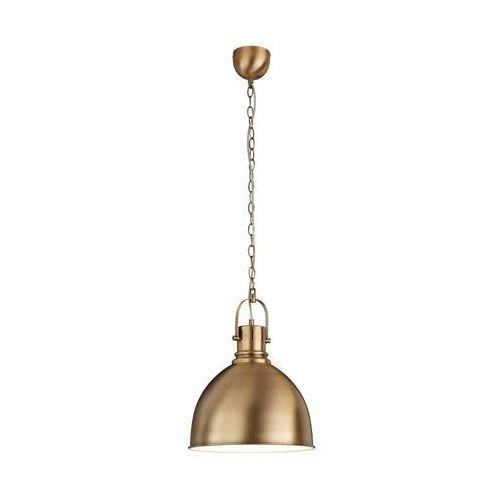 Mosiężna lampa wisząca Tores, 300500104