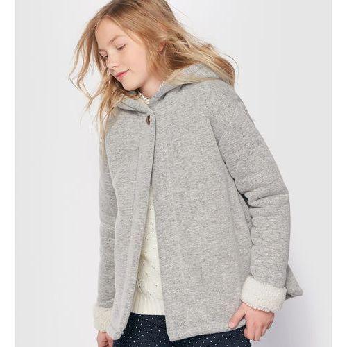 Ciepła bluza w stylu ponczo z kapturem, 10-16 lat