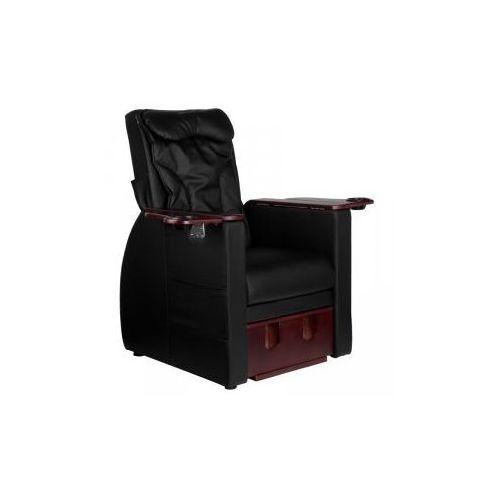 Fotel spa do pedicure z masażem pleców azzurro 101 czarny marki Vanity_a