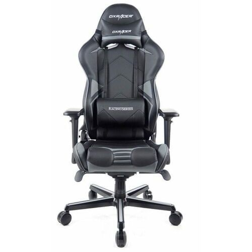 fotel obrotowy racing pro rv131/ng, czarny/szary (rv131/ng) marki Dxracer