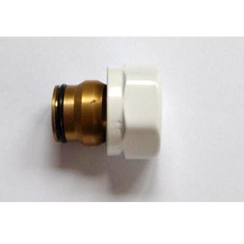 Schlosser Złączka zaciskowa do rury z miedzi cu gw m22x1,5 x 15mm 6025 00003 biała