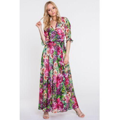 Kopertowa sukienka maxi - GaPa Fashion, kopertowa