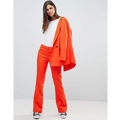 coloured tailored trouser co-ord - orange, Y.a.s, 36-42