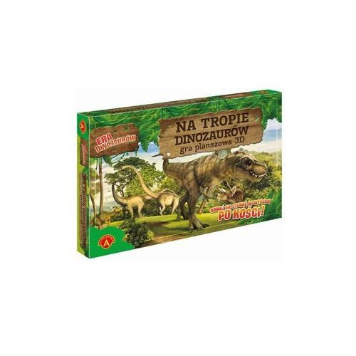 Gra ALEXANDER X2196 Era Dinozaurów Na tropie Dinozaurów, 440850