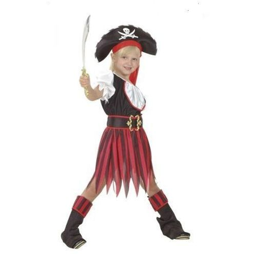 Piratka z wyspy skarbów 4-6 lat, kostium/ przebranie dla dzieci, odgrywanie ról