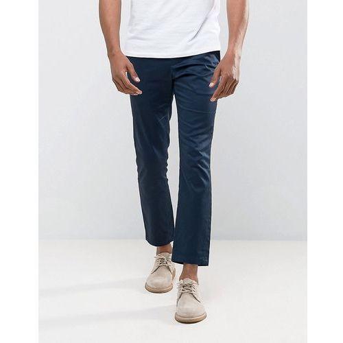 Burton menswear skinny fit smart trouser in navy - navy