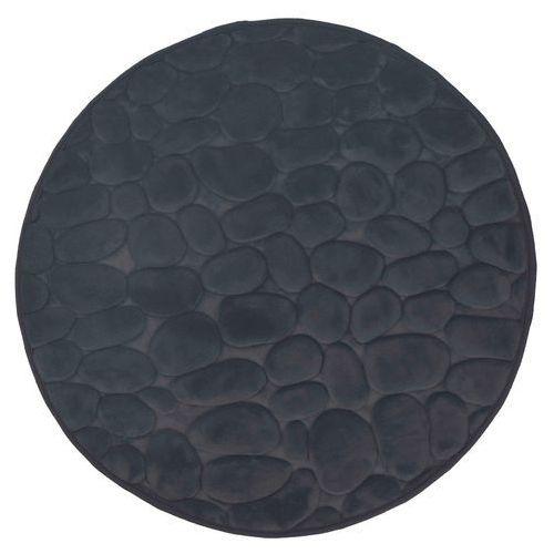 Dywanik łazienkowy okrągły 3d szary marki Duschy