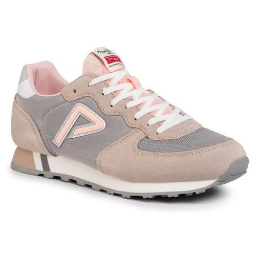 Pepe jeans Sneakersy - klein archive summer pls31004 light pink 315
