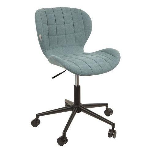 Zuiver Krzesło biurowe OMG czarno/niebieskie 1300002