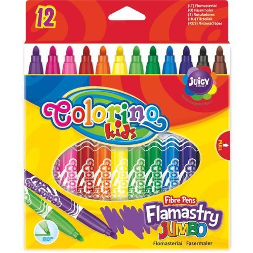 Flamastry. Jumbo. 12 kolorów